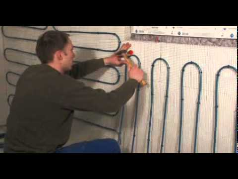 Panel Heating System With Mats For Homes Wall Heating