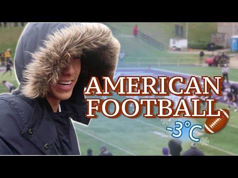 ฝ่าอากาศ -3ºC เพื่อไปดู AMERICAN FOOTBALL! | KAYAVINE