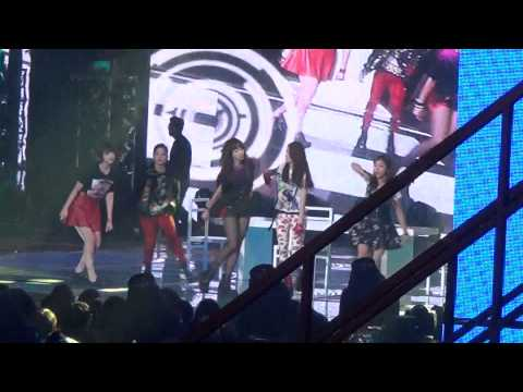 20121229 f(x) Electric Shock @ SBS Gayo Daejun