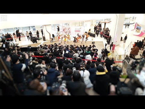 190209 체리블렛 Cherry Bullet : Q&A 큐앤에이 떼창 fanchant : Wide fancam : fansign event : 코엑스