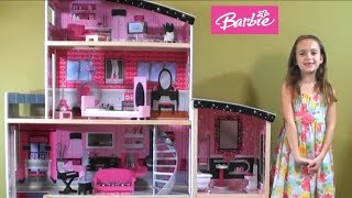 Barbie: Barbie NEW Sparkle Mansion with Barbie Car, Barbie Dog with Puppies, Ken and Barbie Fashion