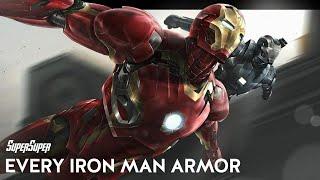 Every Iron Man Armor Made By Tony Stark | SuperSuper