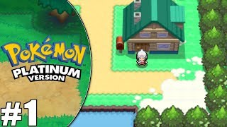 Let's Play: Pokemon Platinum - Ep. 1