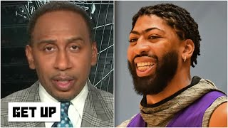 Stephen A. is seeing an 'elevated level of aggression' from Anthony Davis | Get Up