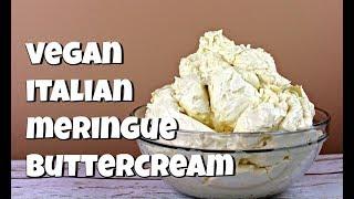 Vegan Italian Meringue Buttercream || Gretchen's Vegan Bakery