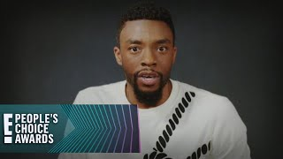 Chadwick Boseman Wins E! PCAs Male Movie Star of 2018 | E! People's Choice Awards