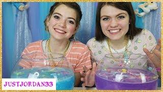 Surprise Fish Bowl Slime Challenge / JustJordan33