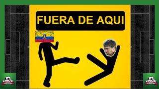 Ecuador 0 Uruguay 4 ⚽ fuera Bolillo Gomez ⚽ horrible partido