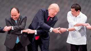 Trump's strangest moments of 2017