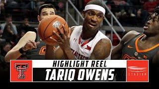 Tariq Owens Texas Tech Basketball Highlights - 2018-19 Season | Stadium
