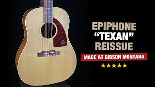 """Epiphone """"Texan"""" Reissue 2020 - Made in Montana!"""