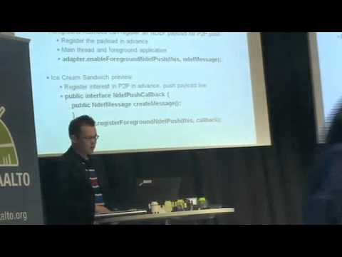 Android Aalto Keynote: NFC (part 1)