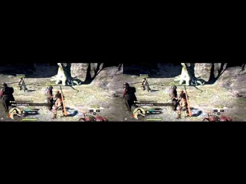 Dragon's Dogma gameplay in 3D