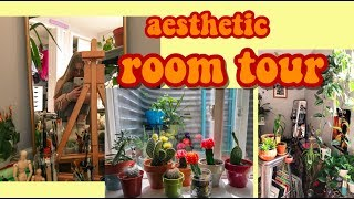 MY AESTHETIC ROOM TOUR (a lot of plants)