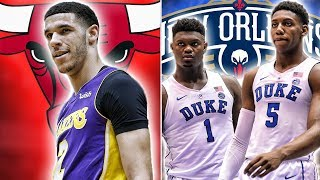 10 Draft Night Trades That Would Change The NBA   Zion And RJ On The Pelicans?