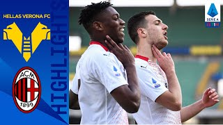 Hellas Verona 0-2 Milan | Krunic & Dalot Fire The Rossoneri To Victory! | Serie A TIM