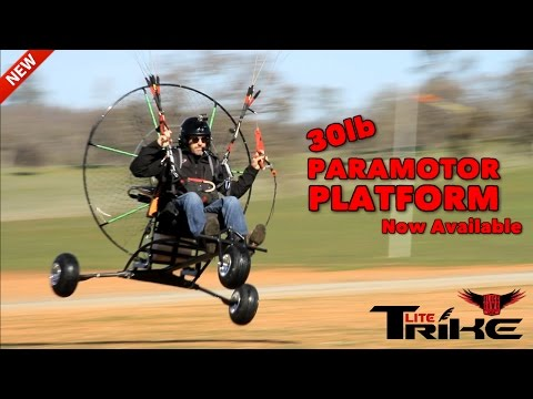 BlackHawk Paramotor Announces NEW Lite Trike For Powered Paragliding!