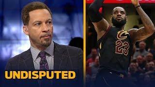 Chris Broussard reacts to LeBron's Game 3 game-winning shot vs Toronto   NBA   UNDISPUTED