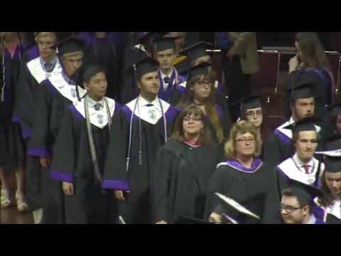 Blue Valley Northwest Graduation 2016