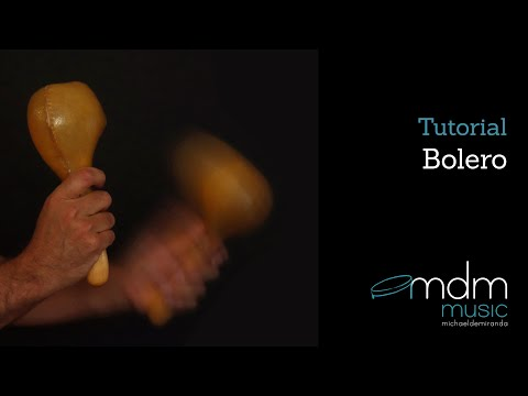 Bolero lesson, free percussion lesson