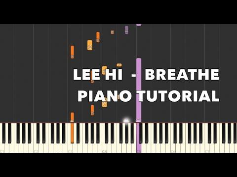 한숨 (Breathe) - 이하이 ( LEE HI  ) Piano Tutorial