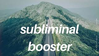 ☯ GET FULL SUBLIMINAL RESULTS IN SECONDS - SUBLIMINAL BOOSTER!