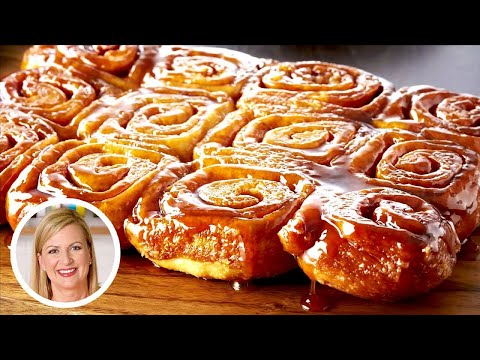The Best Cinnamon Sticky Buns Recipe! | Oh Yum with Anna Olson