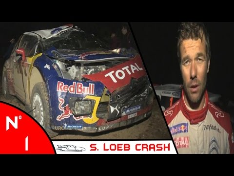 Sebastien Loeb Crash Compilation