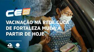 Vacinação na rede Cuca de Fortaleza muda a partir de hoje