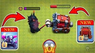 Max Level 8 PEKKA vs Max Wall Wrecker (Siege Machine) | Clash of Clans Ultimate Battle