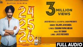 24 25 26 – Rajvir Jawanda