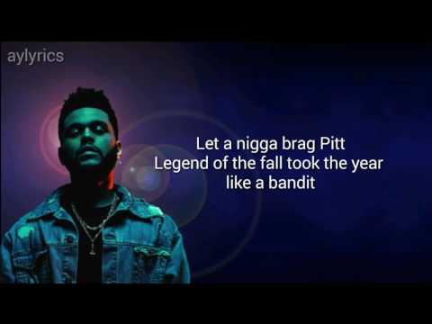 Starboy - The Weeknd (lyrics)