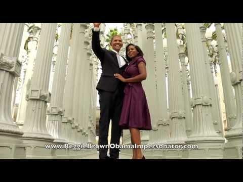 Obama Gangnam Style! Reggie Brown The World's Best Obama Impersonator