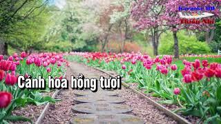 Karaoke Bông Hồng  Tặng Cô - Nhạc Thiếu Nhi