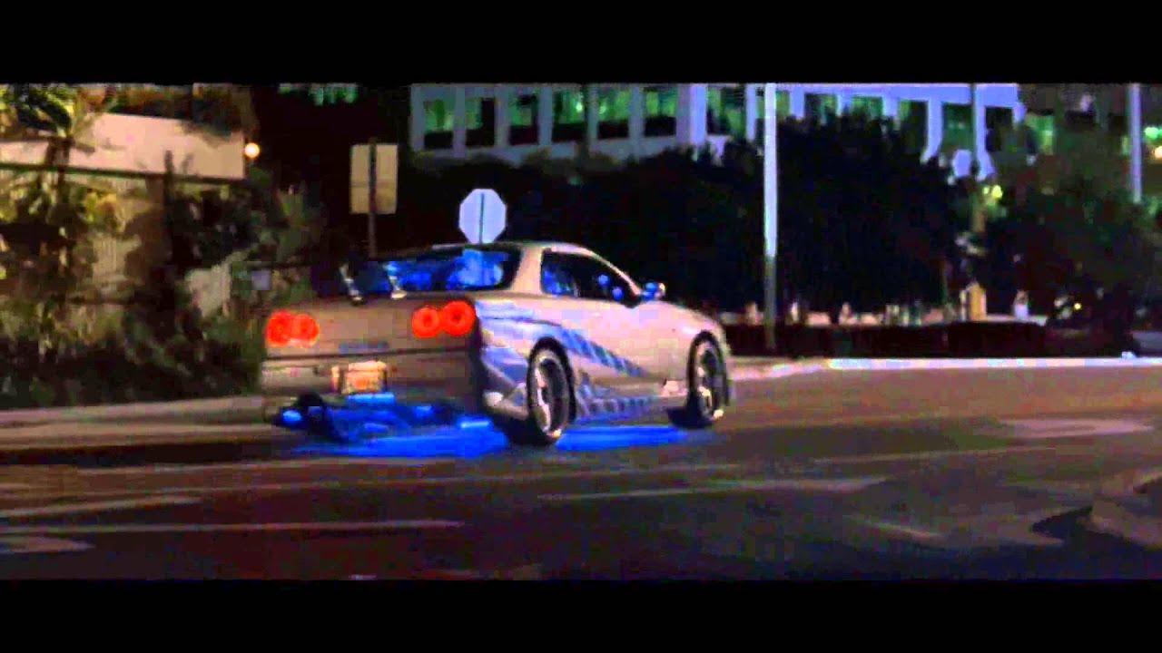 2 Fast 2 Furious Nissan Skyline Gtr R34 R I P Paul Walker
