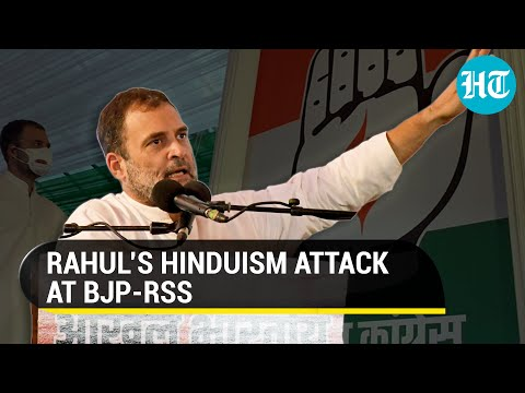 Rahul Gandhi terms BJP and RSS as fake Hindus, asks why RSS ideologue killed Bapu