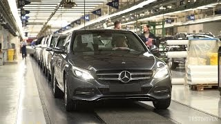 Mercedes-Benz C-Class Production