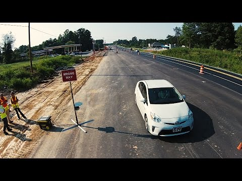 Wrong-Way Detection Device System Demonstration