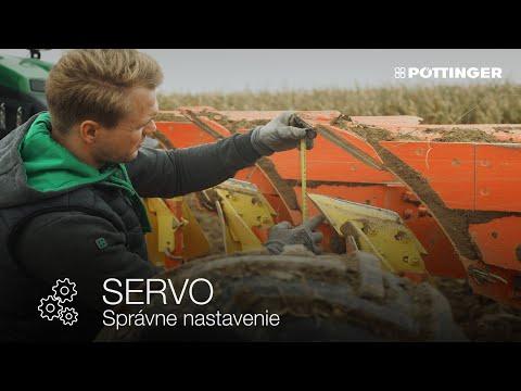 Správne nastavenie pluhu SERVO