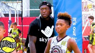 Nate Robinson's SON has TOO MUCH SAUCE - 6th Grader Nyale Robinson GOES off at EBC Camps