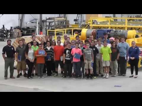 American Crane Opens Doors to Local HS Students for MFG Day 2014