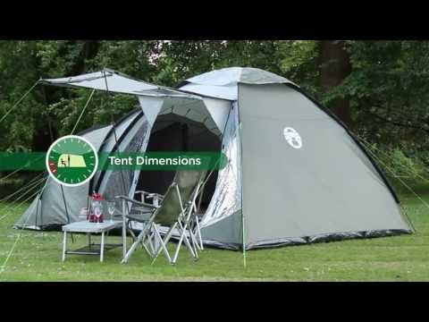 video Coleman Waterfall Five Person Tent
