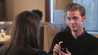 Man proposes to woman with fake engagement ring  | What Would You Do? | WWYD