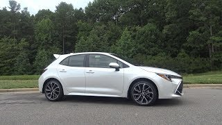 2019 Corolla Hatchback XSE six-speed manual Review (Part 1)