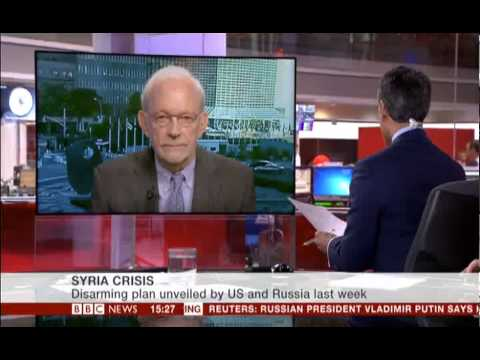 UNICEF Executive Director Anthony Lake talks to BBC about Syrian ...