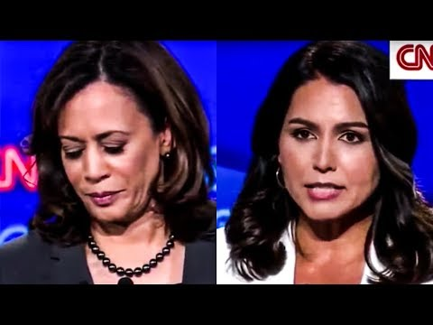 Tulsi Gabbard Prosecutes Kamala Harris During Amazing Debate Moment
