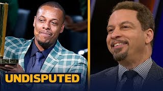 Chris Broussard reacts to Paul Pierce's jersey retirement in Boston | UNDISPUTED
