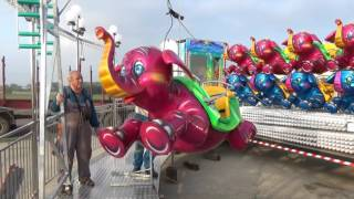 Flying Elephants by Luna-Park Rides- set up video
