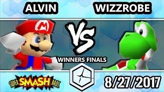 Shine 2017 Smash 64 - Alvin (Pikachu, Mario) vs Fry's   Wizzrobe (Yoshi) - Super Smash Bros. WF