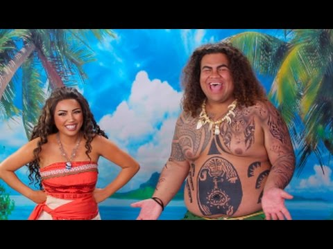 DISNEY'S MOANA 'Behind the Scenes' !!!